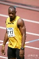 图文:男子100米预赛 鲍威尔轻松过关