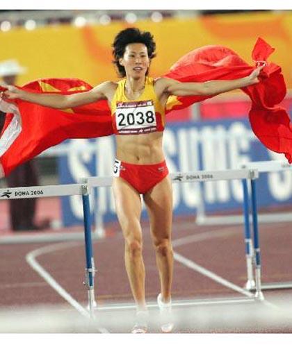 图文:07年田径世锦赛中国军团 黄潇潇