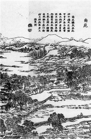 康熙与京稻
