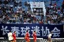 图文:[中超]辽宁VS长春 远征的长春球迷