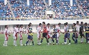 图文:[邀请赛]国青0-1韩国 赛前友好握手