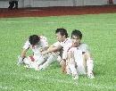 图文:[邀请赛]国青0-1韩国 赛后难掩失望