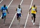 图文:[田径]世锦赛百米决赛 盖伊大展王者之风