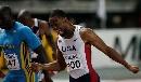 图文:[田径]世锦赛百米决赛 盖伊率先撞线夺冠