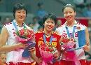 图文:女排大奖赛中国获亚军 获得三项个人最佳