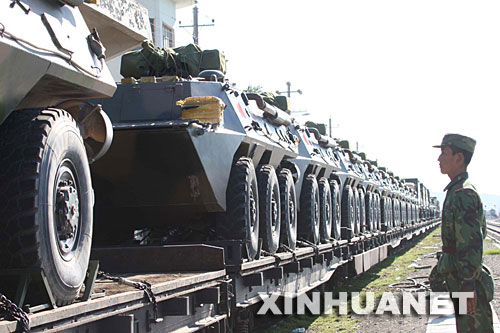 这次演习,是人民解放军历史上首次成建制较大规模、远距离、多军兵种出境参加联合军演