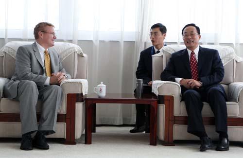 刘敬民会见美国国会众议院国土安全委员会共和党高级顾问