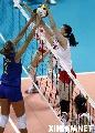 组图:女排大奖赛中国获亚军 姑娘们重拾信心