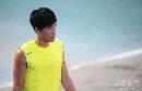 图文:大阪赛刘翔第三堂训练课 中国最大的希望