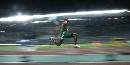 图文:男子三级跳远埃沃拉夺冠 埃沃拉腾飞瞬间