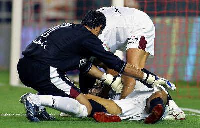 2000年10月u—21全国青年足球联赛上,年仅20岁的青岛颐中二队球员
