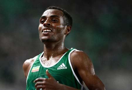 贝克勒实现世锦赛万米三连冠