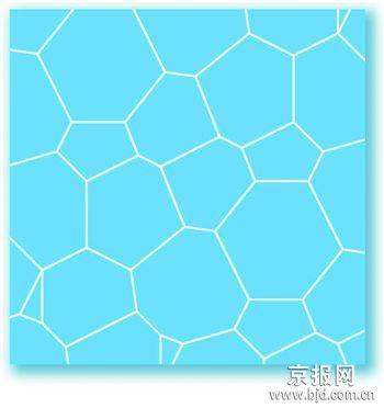 """""""水立方""""商标图案--平面图形"""