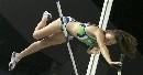 图文:撑杆跳伊辛巴耶娃夺冠 她究竟能否过去