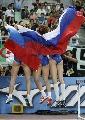 图文:俄罗斯选手包揽跳远奖牌 俄罗斯是大赢家