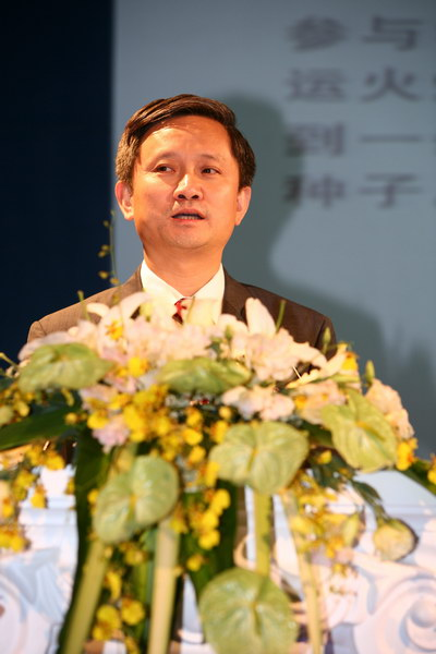 三星电子中国区常务董事兼无线事业部总经理周晓阳先生