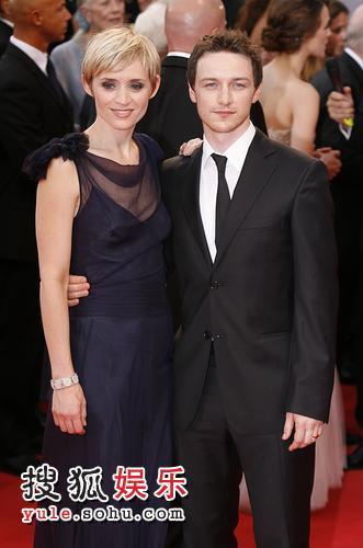 图:64届威尼斯开幕 詹姆斯与安-玛莉携手红毯