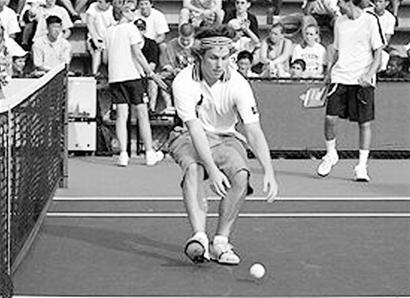 &quot我从就网球