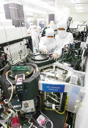 天津中环半导体股份有限公司6英寸0.35微米功率半导体