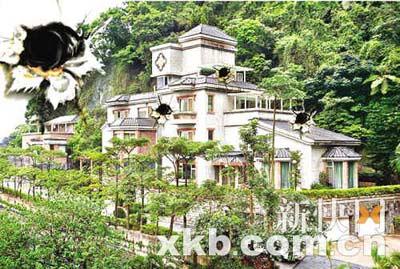 吴宗宪位于台北挹翠山庄的豪宅外景