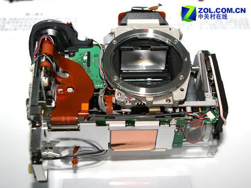 佳能顶级单反EOS 1DS MARK III真机拆解
