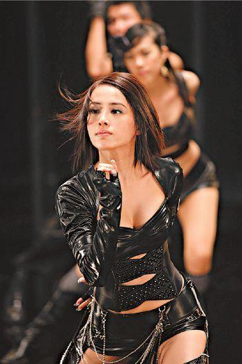 蔡依林新专辑衣装性感