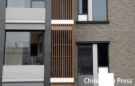 图文:奥运村运动员公寓楼样板间 现代风格
