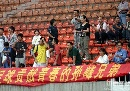 图文:[中超]辽足备战陕西 陕西球迷谢孙峰