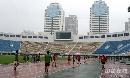 图文:[中超]辽足备战陕西 雨后球场