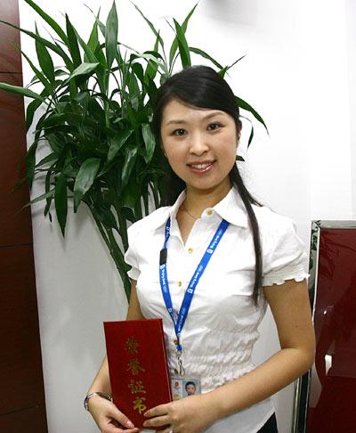 志愿之星―前期志愿者杜梦雪:志愿奥运 服务梦想