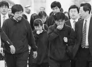 获释的韩国人质