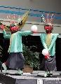 图文:2007男排亚锦赛花絮扫描 卡通人形象逼真
