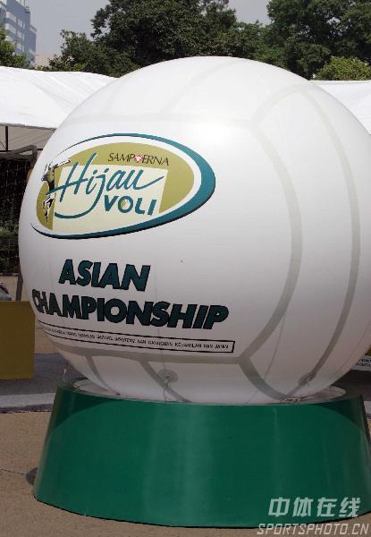 图文:2007男排亚锦赛花絮扫描 这就是排球世界
