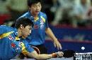图文:乒乓球中国大奖赛 陈杞马龙获男双亚军