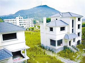 """阆中市审计局""""别墅""""圈地面积在4000平方米左右。"""