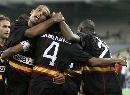 图文:欧冠塞维利亚4-1雅典AEK 庆祝进球