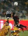 图文:欧冠塞维利亚4-1雅典AEK 法比亚诺冲顶