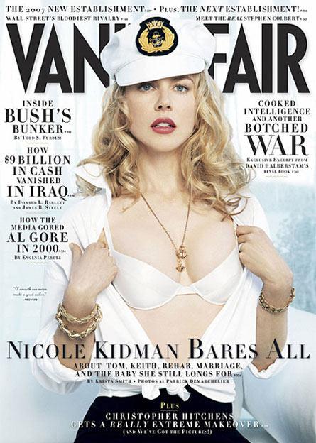 妮可登上《名利场》9月刊封面