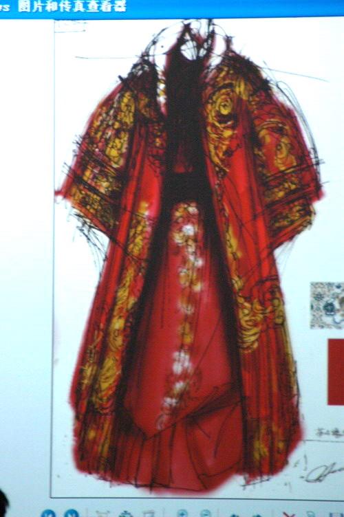 张肇达设计的服装