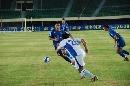 图文:[中超]厦门蓝狮VS上海 王洪亮拦截