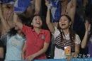 图文:[中超]深圳2-0河南建业 美女球迷