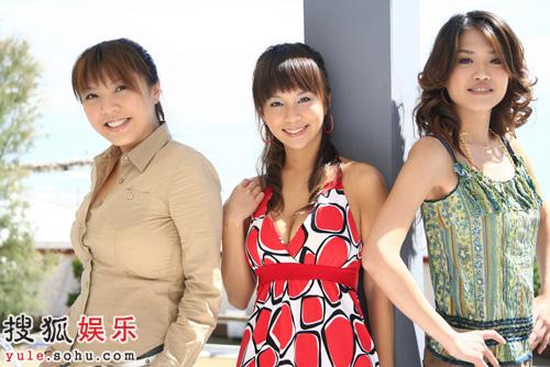 女F4展示着她们的魅力