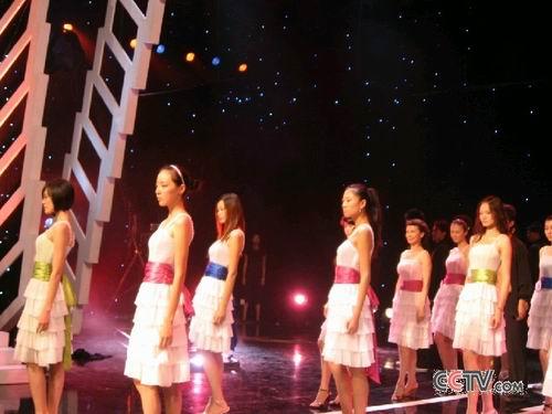 图:第八届CCTV模特大赛 现场彩排美图 - 4