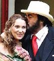 图:男高音歌唱家帕瓦罗蒂与妻子甜蜜照 - 3