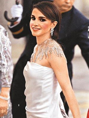 图文:约旦王后拉妮亚