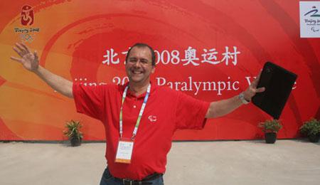 国际残奥委会首席执行官冈萨
