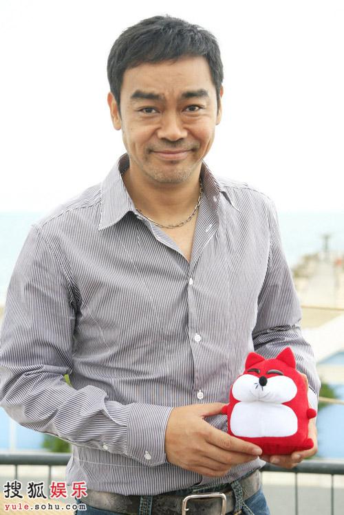 刘青云抱着小狐狐