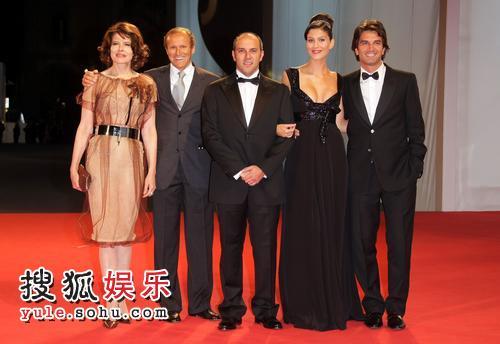 图:第64届威尼斯电影节 《巅峰时刻》首映式