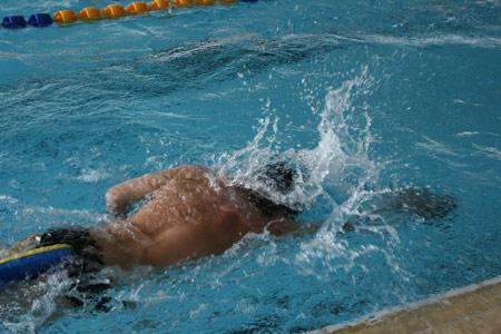 图文:残疾人训练基地人物篇 残疾人游泳队队员