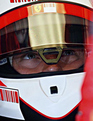 图文:[F1]意大利站次回练习 全副武装的莱科宁